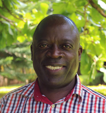 Andy Kigozi, reap team member, procurement and logistics